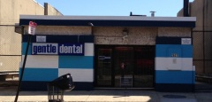 Gentle Dental sign and mural