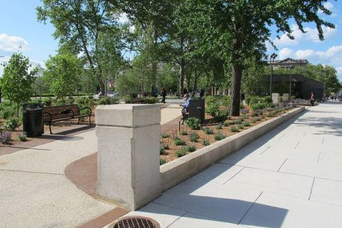 Sister Cities Park - credit via CC license Plan Philly:Eyes on the Street